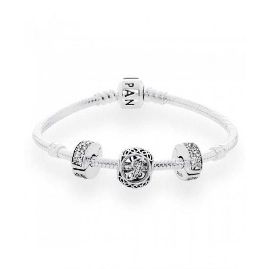 Pandora Bracelet-Vintage J Complete Jewelry