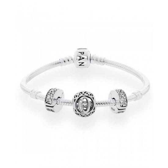 Pandora Bracelet-Vintage O Complete Jewelry