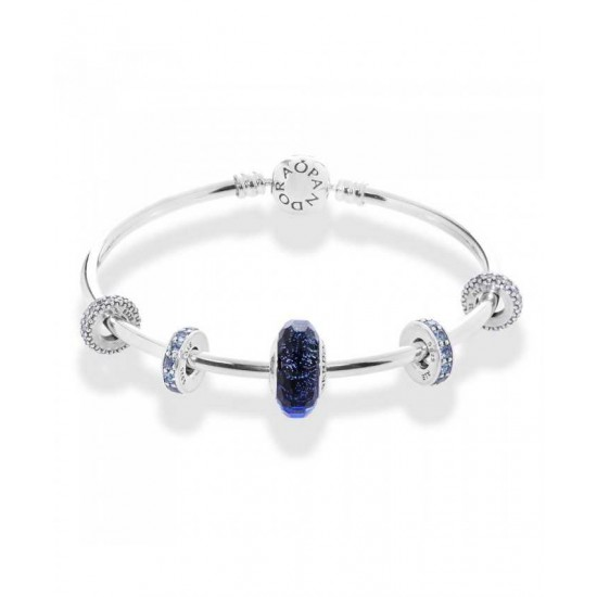 Pandora Bangle-Advertised Arctic Breeze Complete Jewelry
