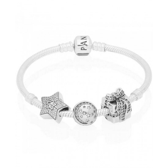 Pandora Bracelet-A Sparkling Gift Complete Jewelry