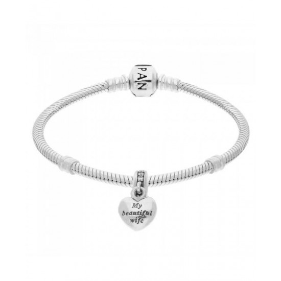 Pandora Bracelet-My Beautiful Wife Complete Jewelry