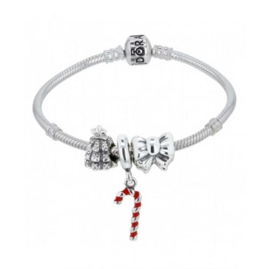Pandora Bracelet-On The Christmas Tree Complete Jewelry