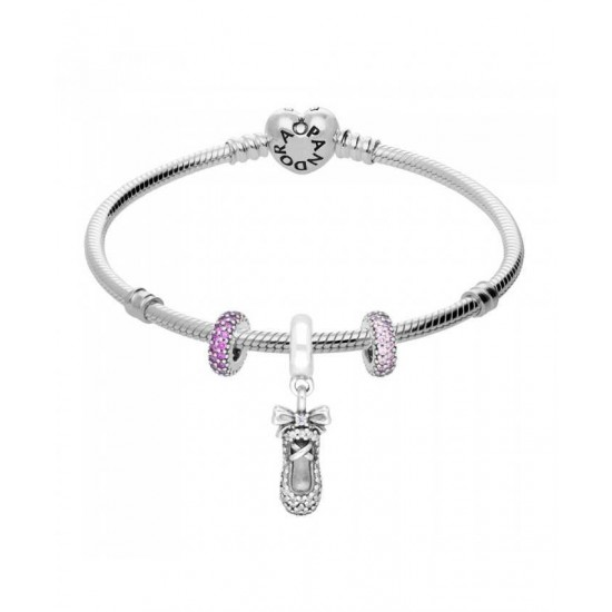 Pandora Bracelet-Twinkle Toes Complete Jewelry