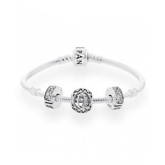 Pandora Bracelet-Vintage Q Complete Jewelry