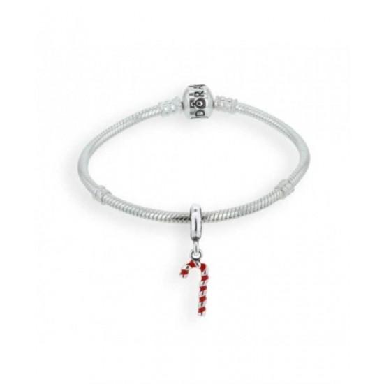 Pandora Bracelet-Candy Cane Complete Jewelry