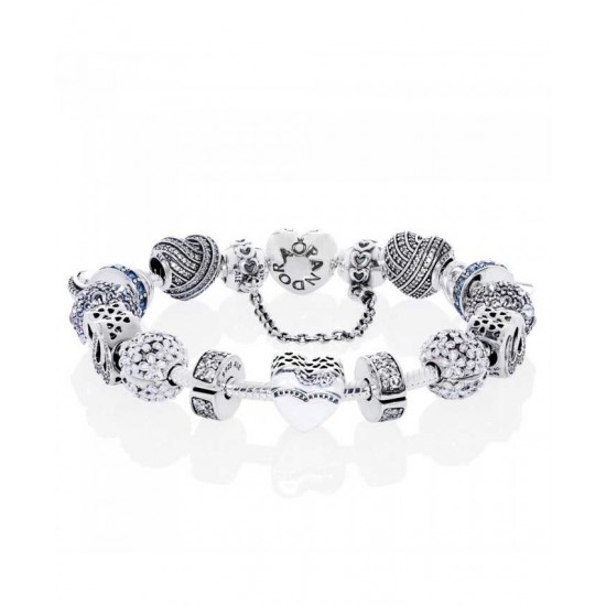 Pandora Bracelet-Silver Our Special Day Complete Jewelry