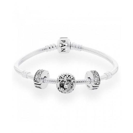 Pandora Bracelet-Vintage Y Complete Jewelry