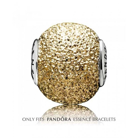 Pandora Charm-Essence Silver 14ct Gold Sensitivity Jewelry