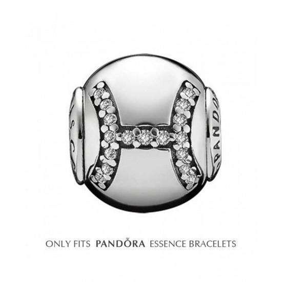 Pandora Charm-Essence Silver Pisces Jewelry Sale Online