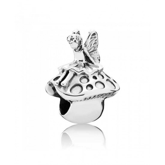 Pandora Charm-Silver Forest Fairy Jewelry