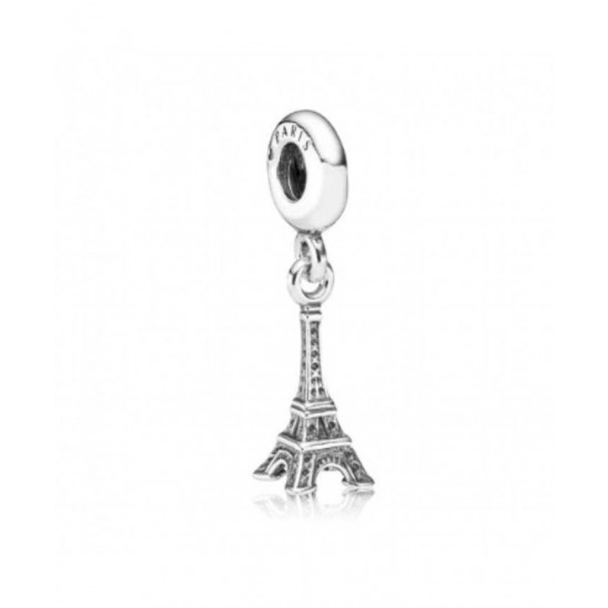 Pandora Charm-Silver National Icon Eiffel Tower Jewelry