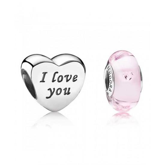 Pandora Charm-I Love You Jewelry