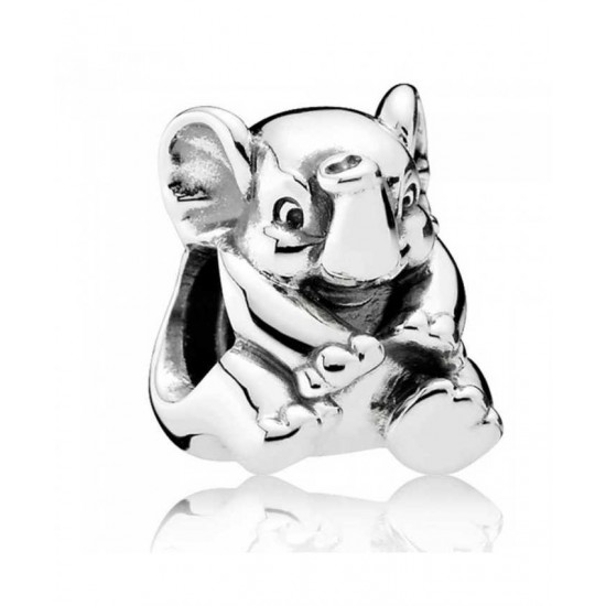 Pandora Charm-Oriental Bloom Lucky Elephant Sterling Silver Jewelry