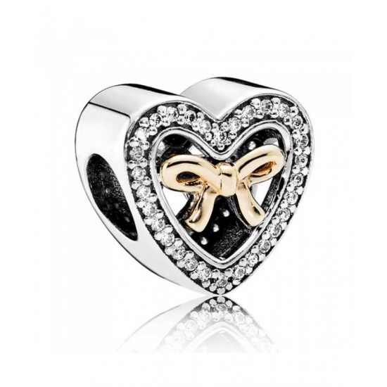 Pandora Charm-Silver Limited Edition Bound By Love Jewelry