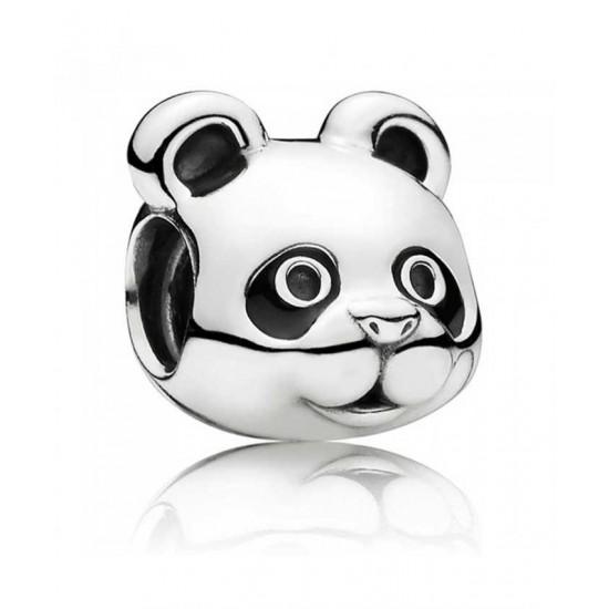 Pandora Charm-Silver Peaceful Panda Jewelry