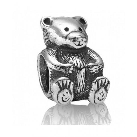Pandora Charm-Sterling Silver Teddy Jewelry
