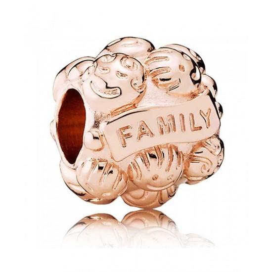Pandora Charm-Rose Family Jewelry Sale Cheap