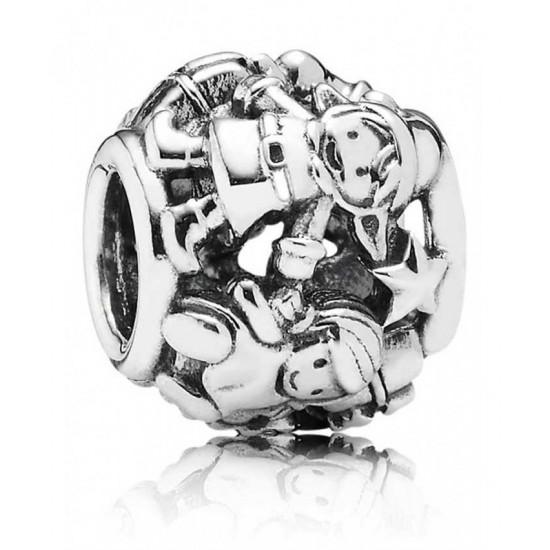 Pandora Charm-Silver Christmas Elves Jewelry