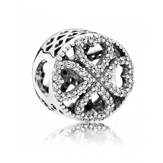 Pandora Charm-Silver Petals Of Love Jewelry