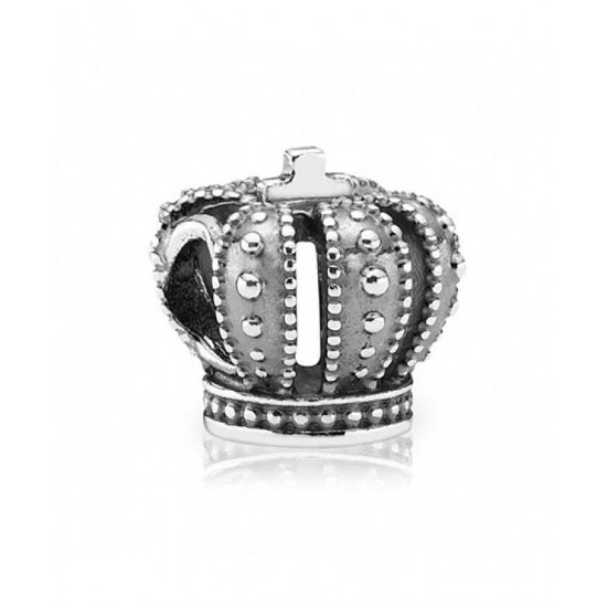 Pandora Charm-Sterling Silver Crown Jewelry