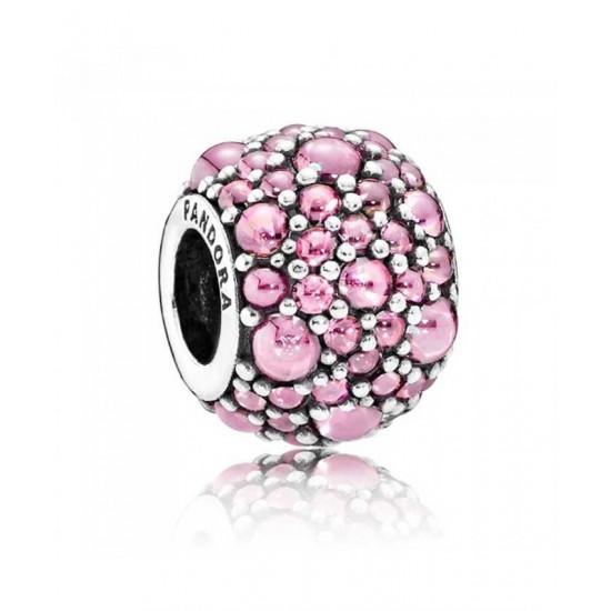 Pandora Charm-Pink ShimmeRing Jewelry