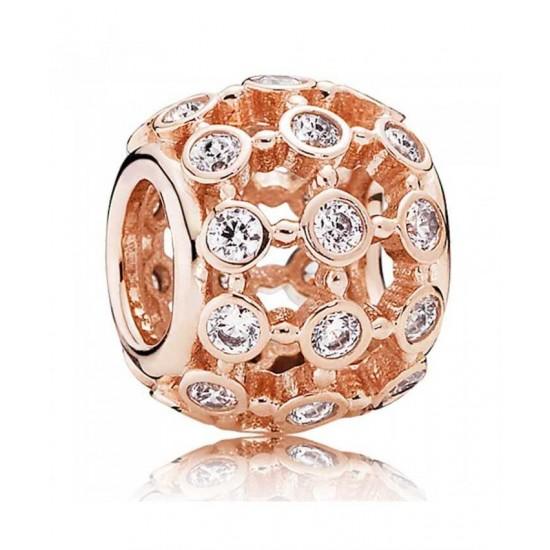 Pandora Charm-Rose In The Spotlight Jewelry Sale Online