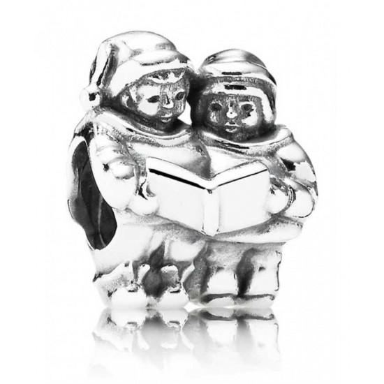 Pandora Charm-Silver Carol Singers Jewelry