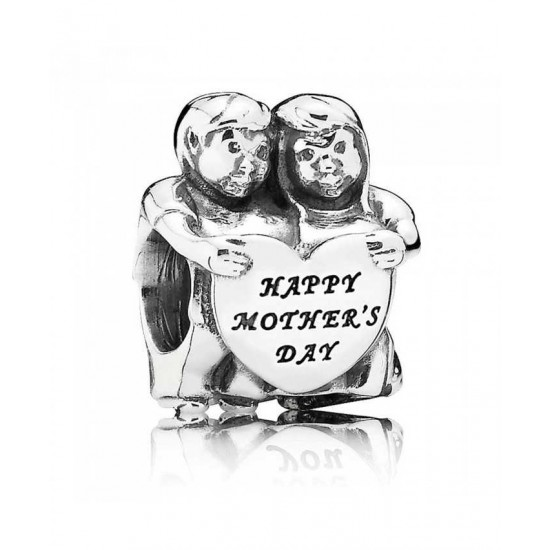 Pandora Charm-Silver Happy Mothers Day Jewelry