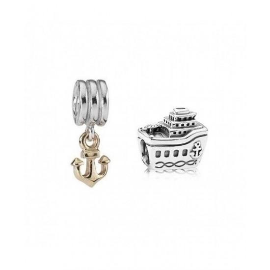 Pandora Charm-Sterling Silver Bon Voyage Jewelry