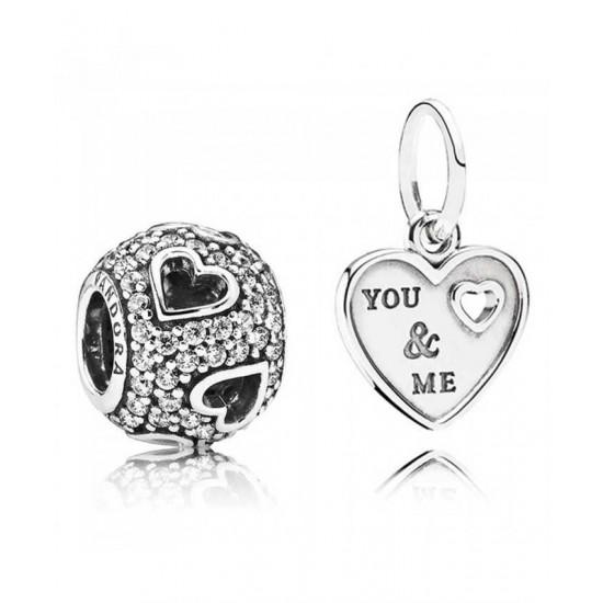Pandora Charm-You And Me Jewelry