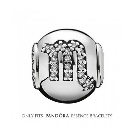 Pandora Charm-Essence Silver Scorpio Jewelry