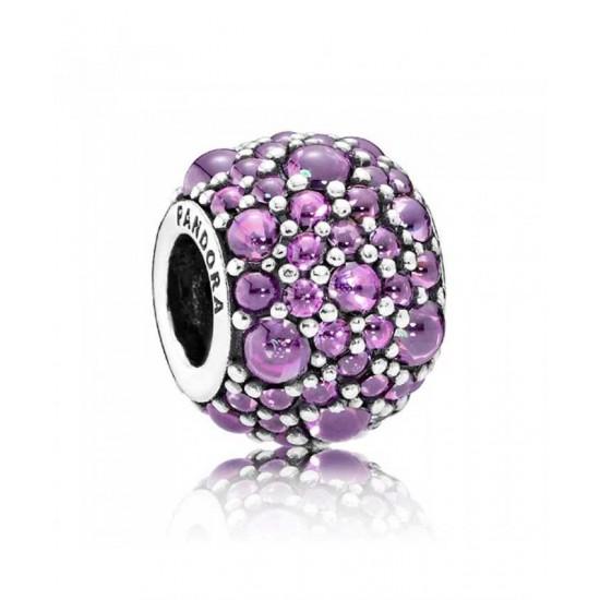 Pandora Charm-Purple ShimmeRing Jewelry