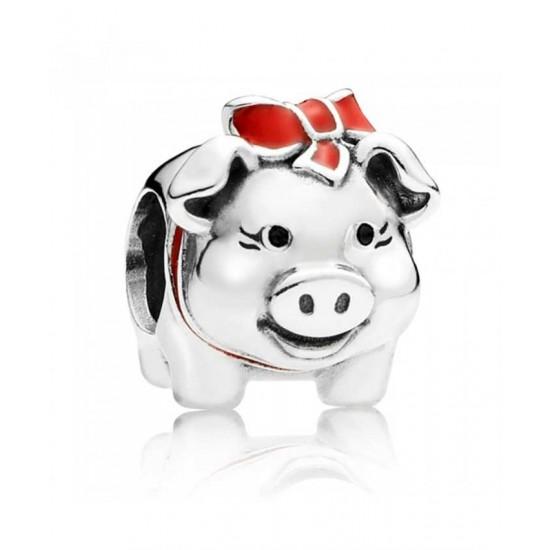 Pandora Charm-Silver Piggy Bank Jewelry