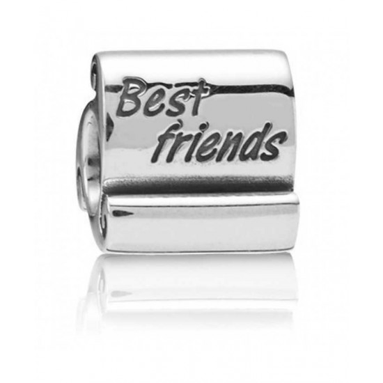 Pandora Charm-Sterling Silver Best Friends Jewelry
