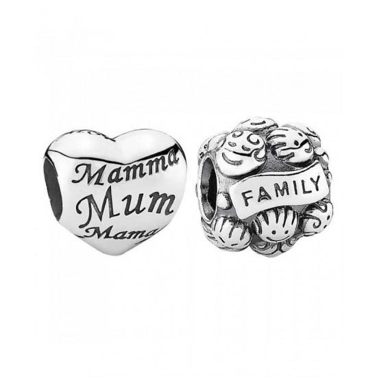 Pandora Charm-Heart Of The Family Jewelry