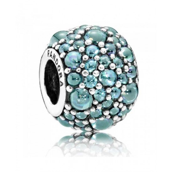 Pandora Charm-Oceanic Teal ShimmeRing Jewelry