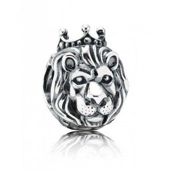 Pandora Charm-Silver Lion Head Jewelry