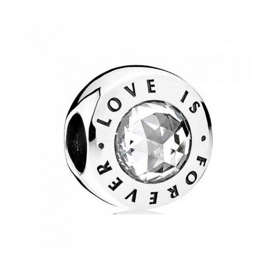Pandora Charm-Silver Love Is Forever Jewelry
