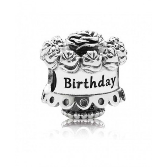 Pandora Charm-Birthday Cake Jewelry