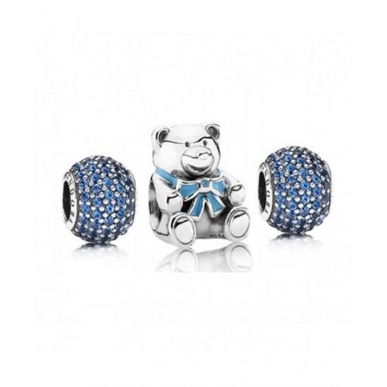 Pandora Charm-Blue For A Boy Jewelry