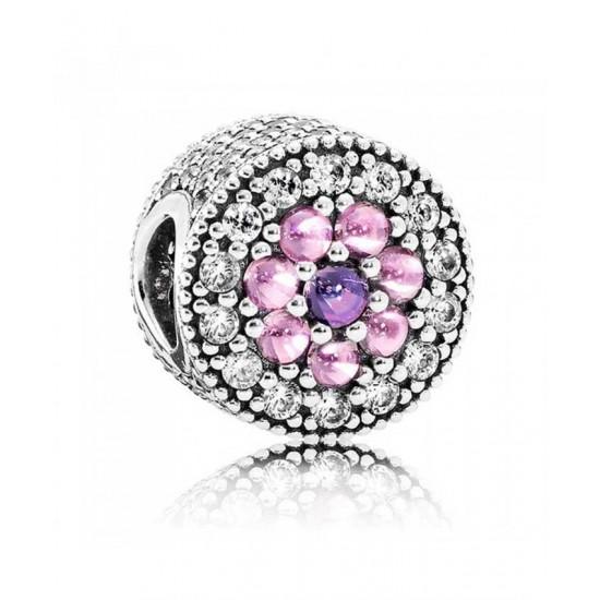 Pandora Charm-Dazzling Floral Jewelry