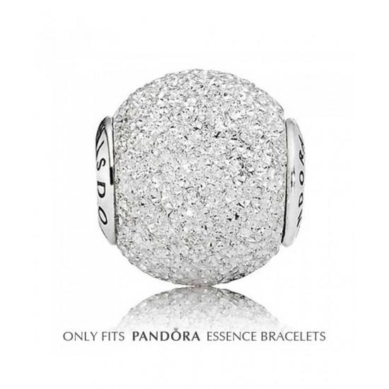 Pandora Charm-Essence Silver Sparkle Wisdom Bead Jewelry