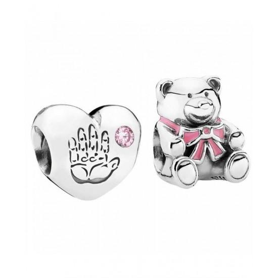 Pandora Charm-Silver Baby Girl Jewelry