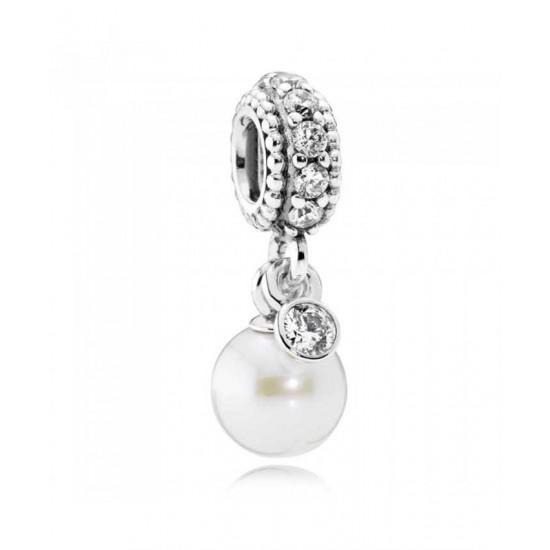 Pandora Charm-Silver Luminous Elegance Pendant Jewelry