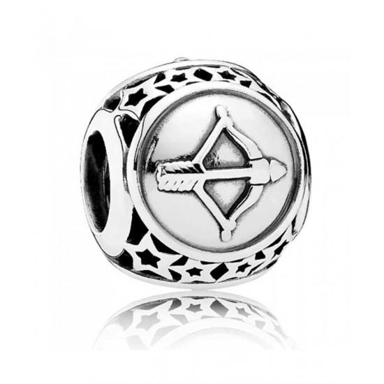 Pandora Charm-Silver Sagittarius Star Sign Jewelry