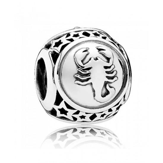 Pandora Charm-Silver Scorpio Star Sign Jewelry