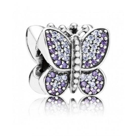 Pandora Charm-Sparkling Butterfly Jewelry