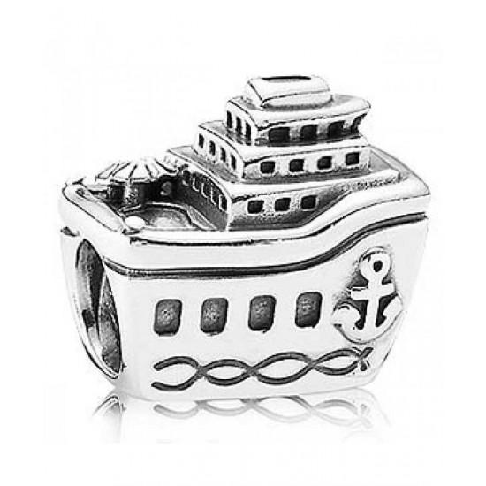 Pandora Charm-Sterling Silver Cruise Ship Jewelry