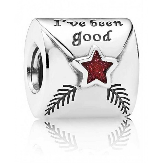 Pandora Charm-Silver Letter To Father Christmas Jewelry