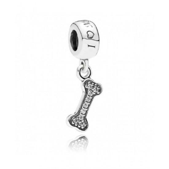 Pandora Charm-Dog Bone Pendant Jewelry